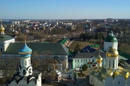 монастырь, сергиев посад
